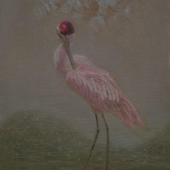 fabulous creatures 12, pastel op papier, 34 x27 cm.