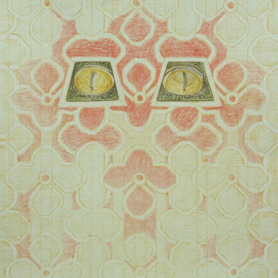 fabulous creatures 6, polychromos potlood op papier, 34 x 27 cm.