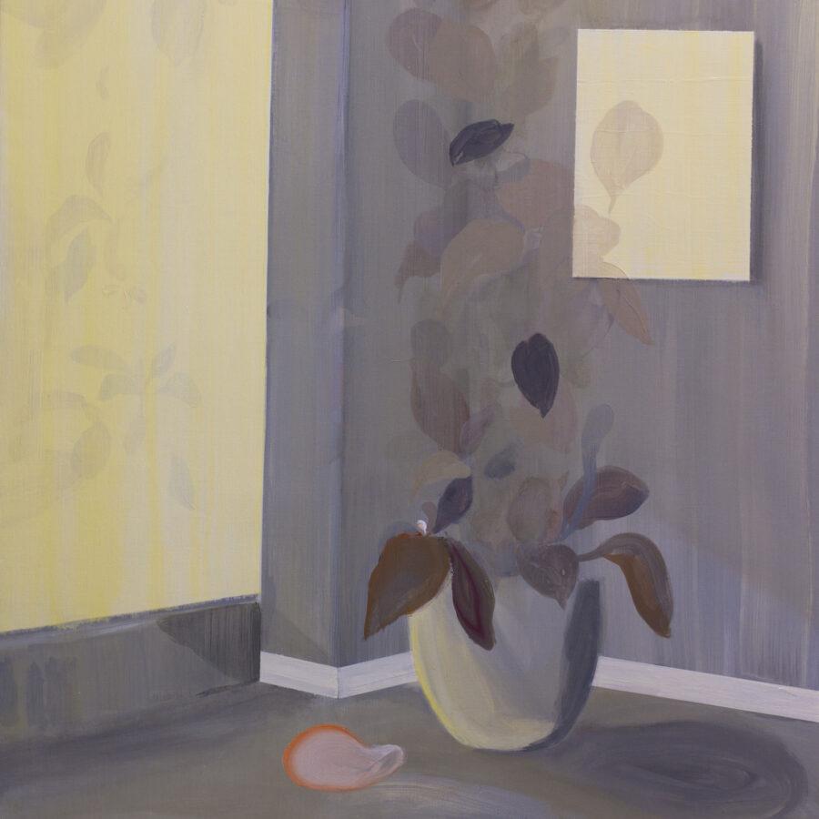 Inside Outside, acryl op linnen, 100 x 120 cm, 2021