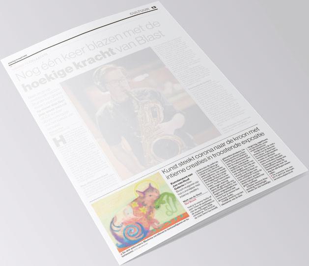 Brabants dagblad 13 maart 2021