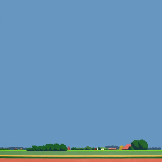 Friesland 2, 100 x 100 cm, oil, 2021