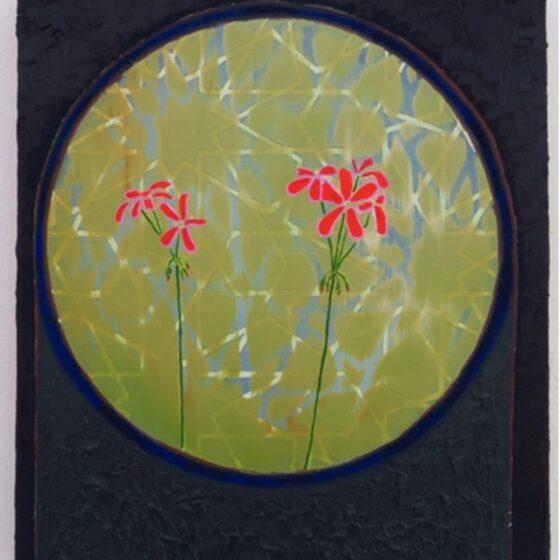 Mr Quilter, 26 x 31 cm, olieverf op doek, 2020