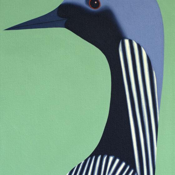 Bird, 40 x 30 cm, oil, 2021