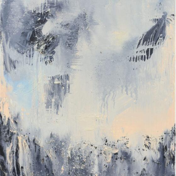 Masking Reality, 140 x 100 cm., olieverf op linnen