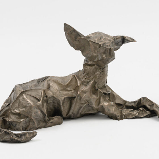Flex, 2020, brons, 40 x 80 x 32 cm