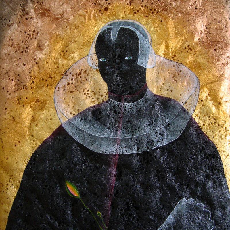 bayetta, acryl en polyurethaan op canvas, 180 x 140 cm, 2019