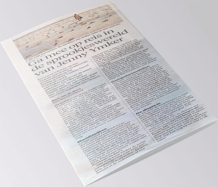 Brabants Dagblad 1 oktober 2021 - Jenny Ymker